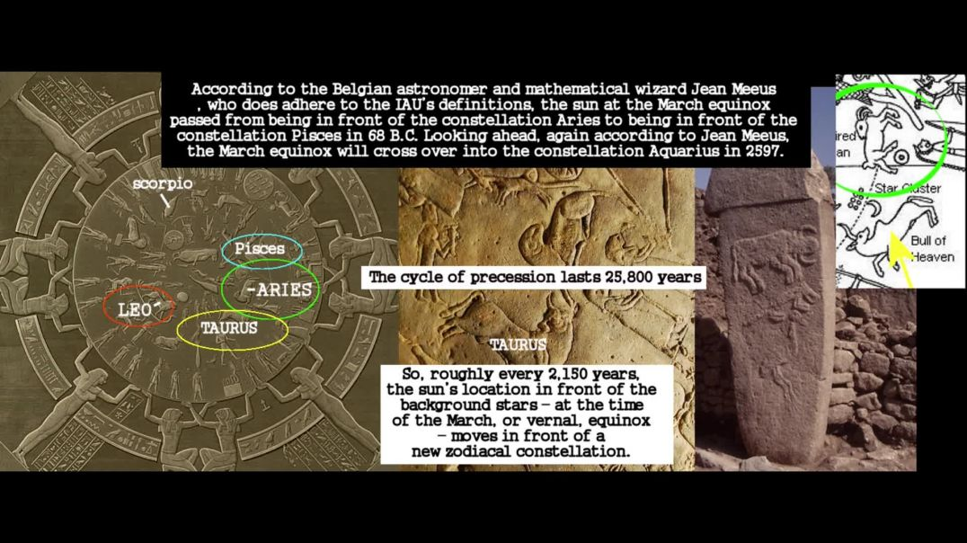 Dendera Zodiac proves BIBLICAL GENESIS was within the last 6,450 years