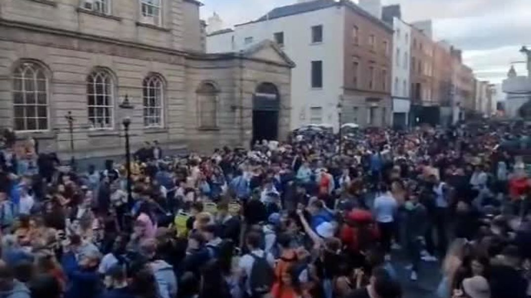 The Youth in Ireland Has Had Enough of This Plandemic