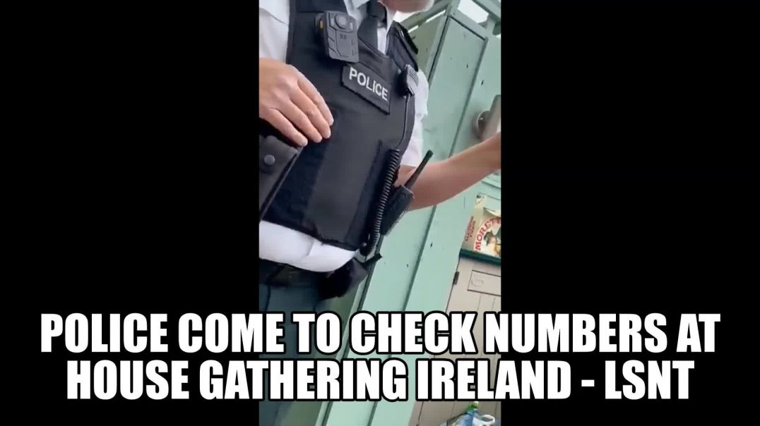 To Many People At House Gathering Neighbour Phones Police! IRELAND LOCKDOWN