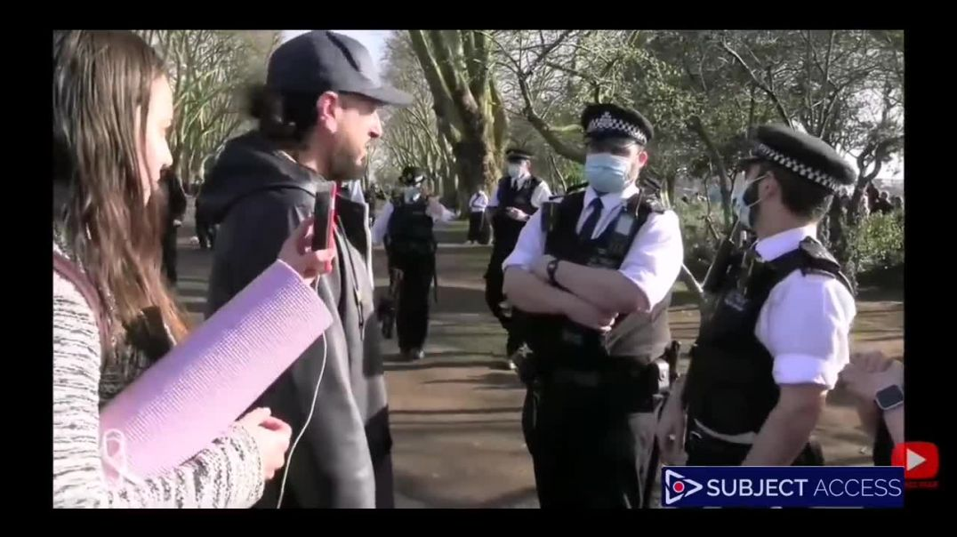 Woman Violently Arrested Just For Standing In A Park