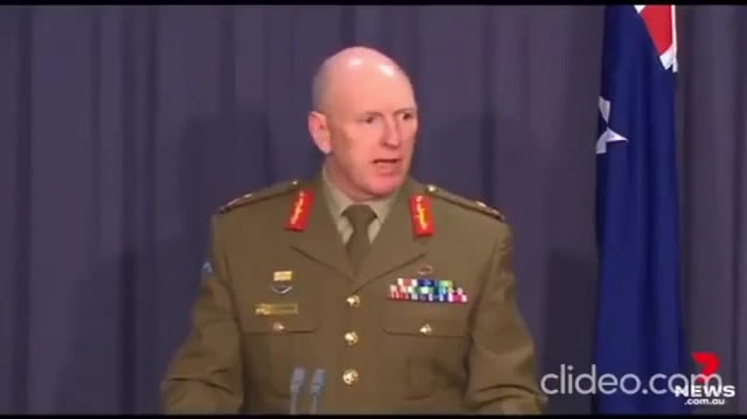 Operation Covid Shield, Army General To Lead Injection Roll Out In Australia.
