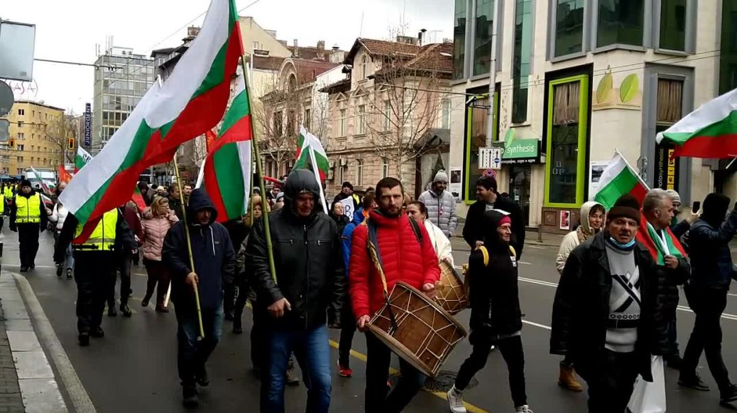 PT36 March 20th Bulgaria Sofia WWD Worldwide Freedom Rally March Demonstration Peaceful Protest