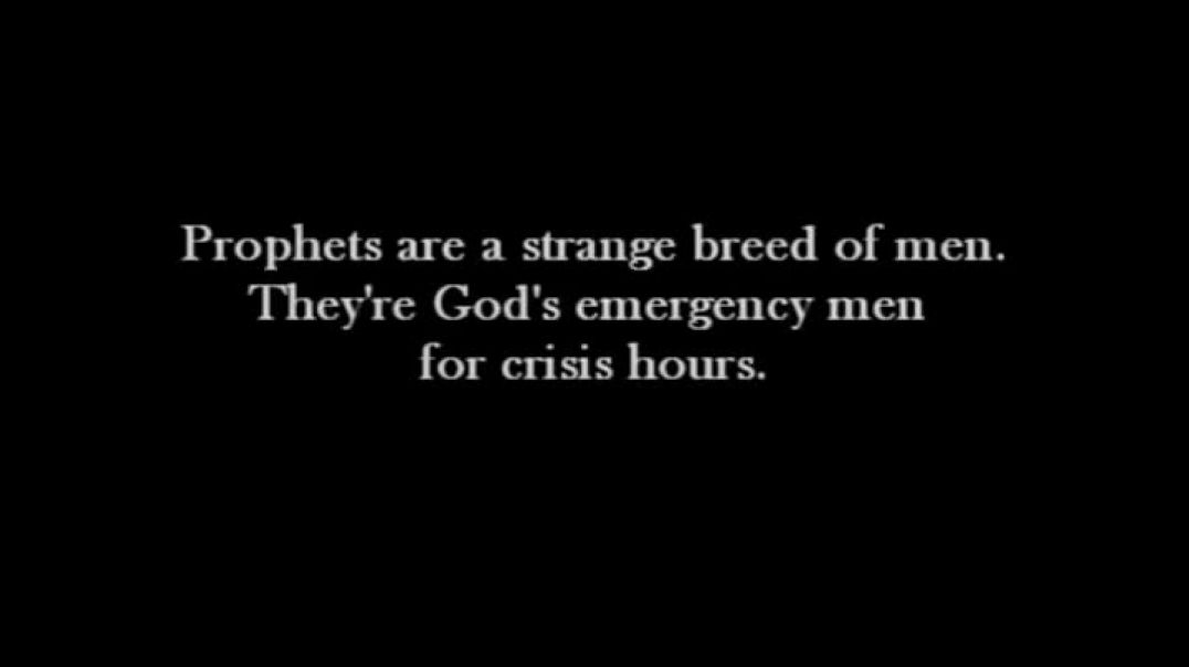 THE SPIRIT OF A PROPHET. Words don`t do this vid justice its so good.