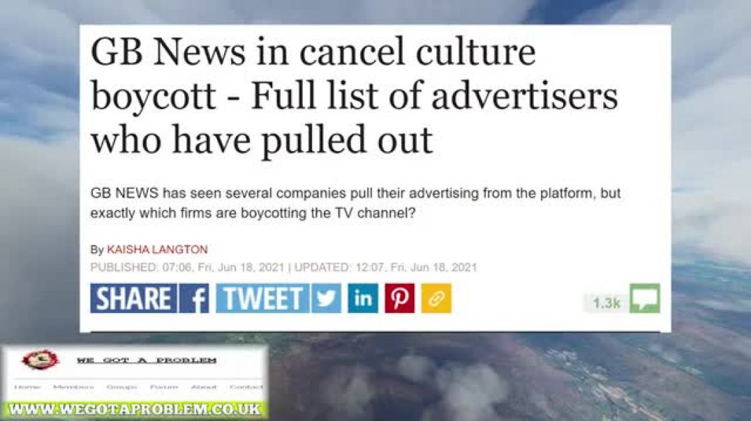 Major Brands Backtrack On Their GB News Boycott After The Public Threatened To Boycott Them