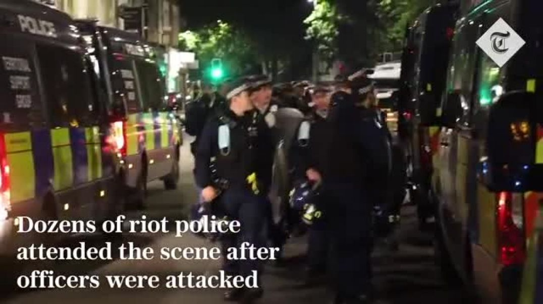 RIOT police called into Brixton AFTER all of the action was over. Got paid OVERTIME.