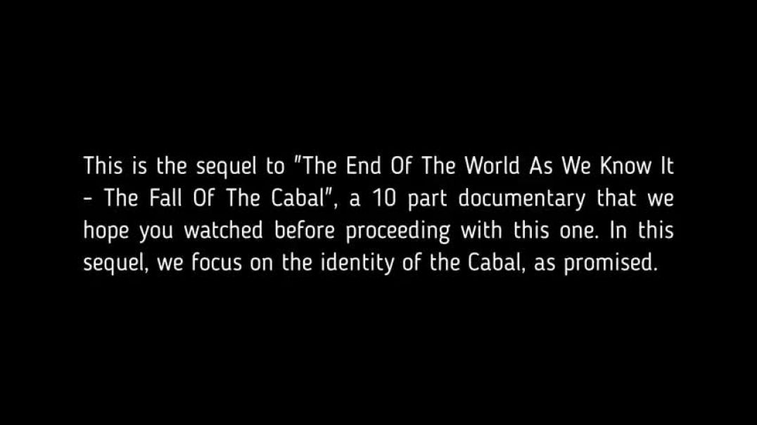 The Sequel To The Fall Of The Cabal Part 1