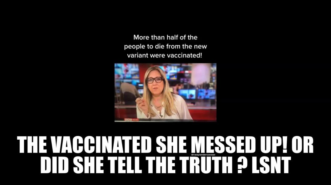 New Variant Is Effecting The Double Vaccinated BBC MESSES UP LIVE ON TV!