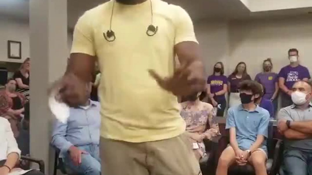 Father Smashes Critical Race Theory at School Board Meeting