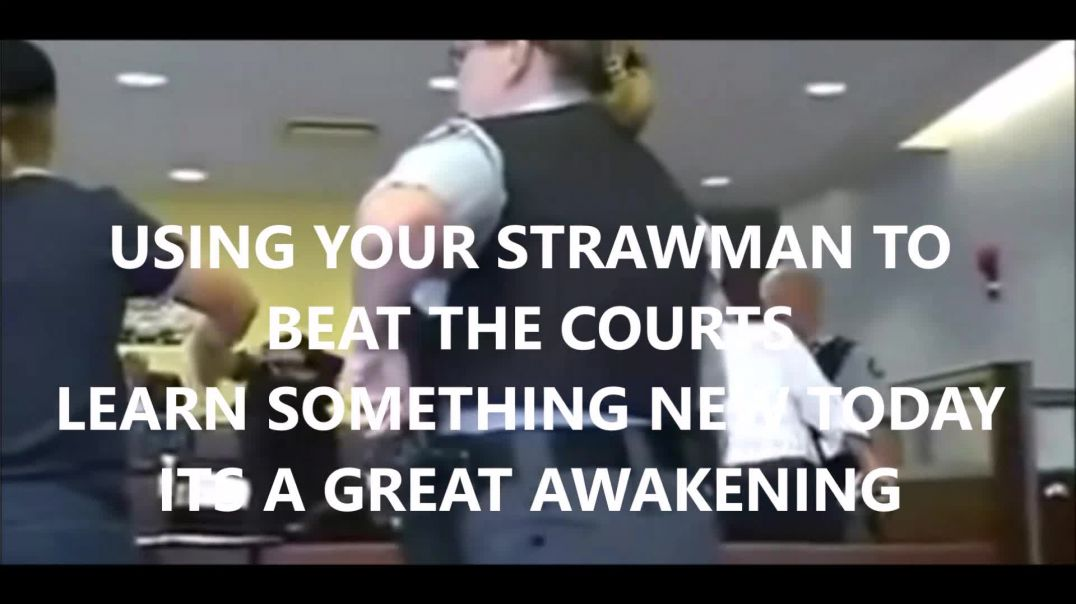 Judge Walks Out Abandons SHIP! As Man Uses Black Law & Knowledge of The Strawman