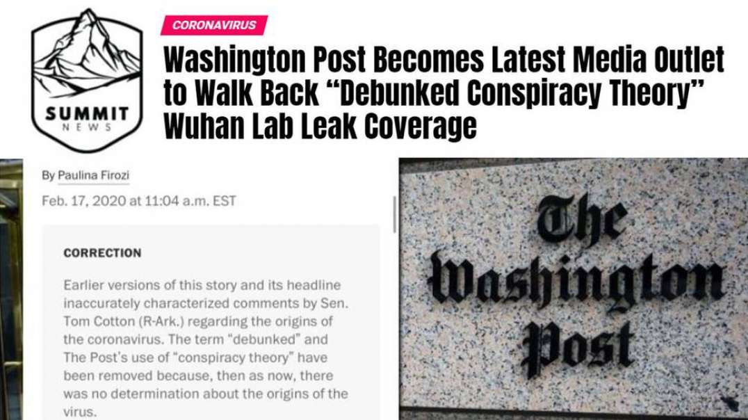 New York Times Reporter Says It's Racist To Discuss Wuhan Lab Theory