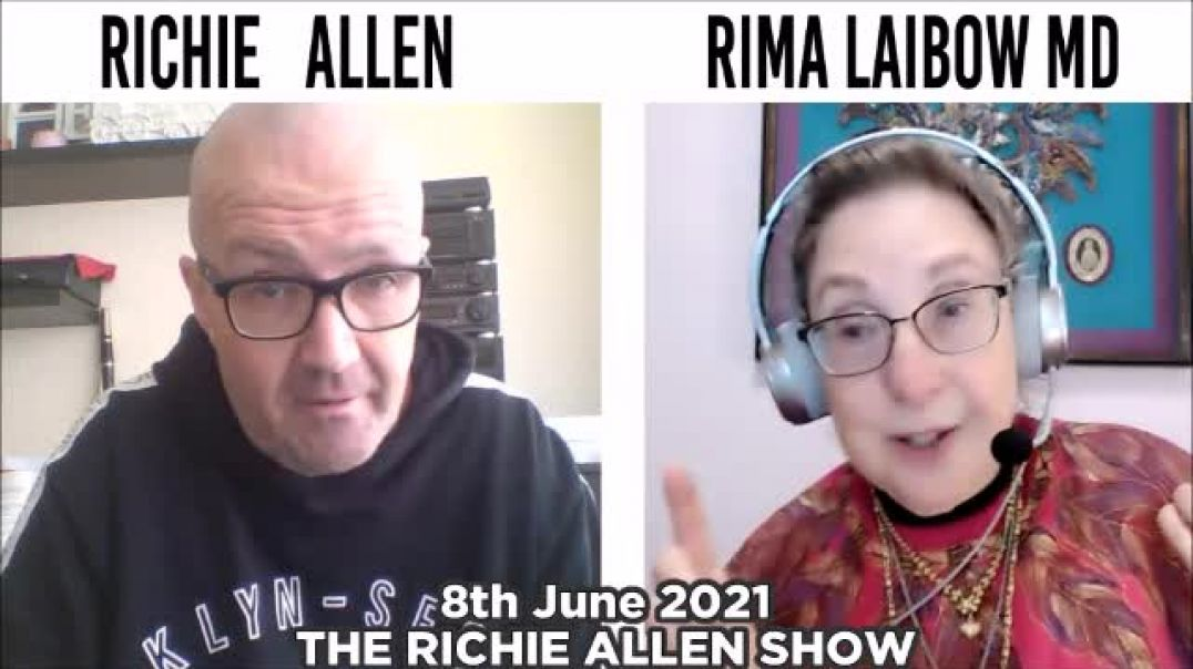 Rima Laibow. Vaxxed shedding spike proteins? What does that mean for the health of the unvaxxed?