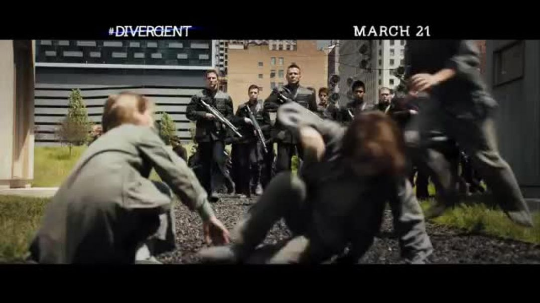 DIVERGENT-Break The Rules- Official movie trailer