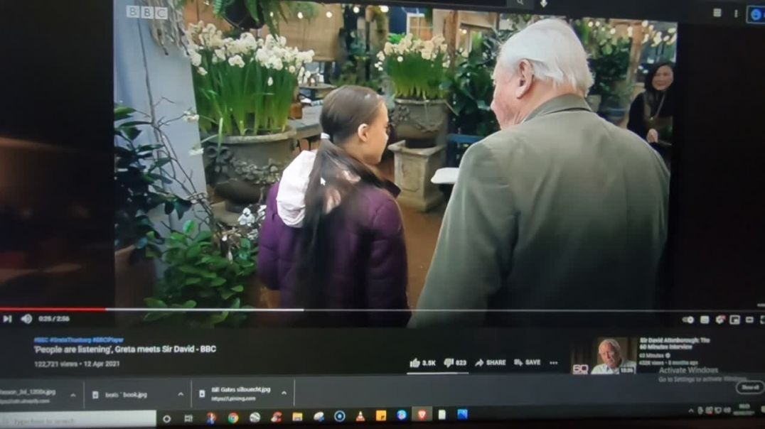 BBC David Attenborough and Greta make my blood boil with there lies.