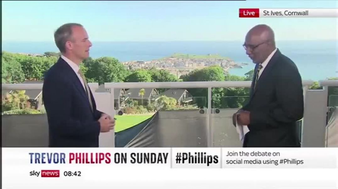 Sky News Grill Raab: So People CAN HAVE MORE THAN 30 GUESTS BECAUSE THE G7 DID!!