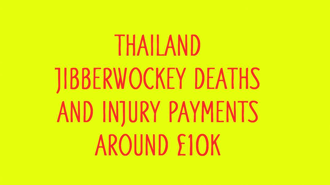Compensation for death from jab, in Thailand