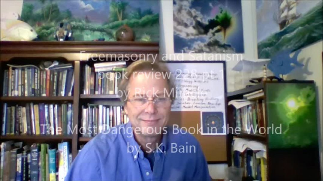 Freemasonry and Satanism, book review by RIck MIracle, The Most Dangerous Book in the World by S.K B