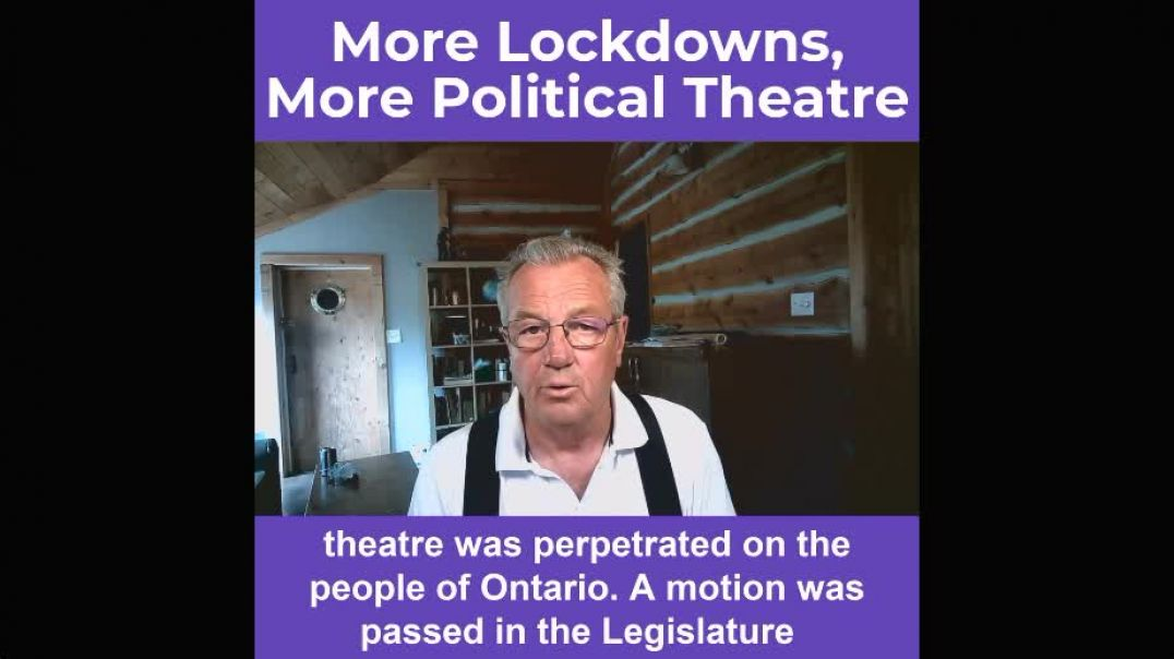 Government & Opposition Parties Collude to Extend Covid Dictatorship in Ontario