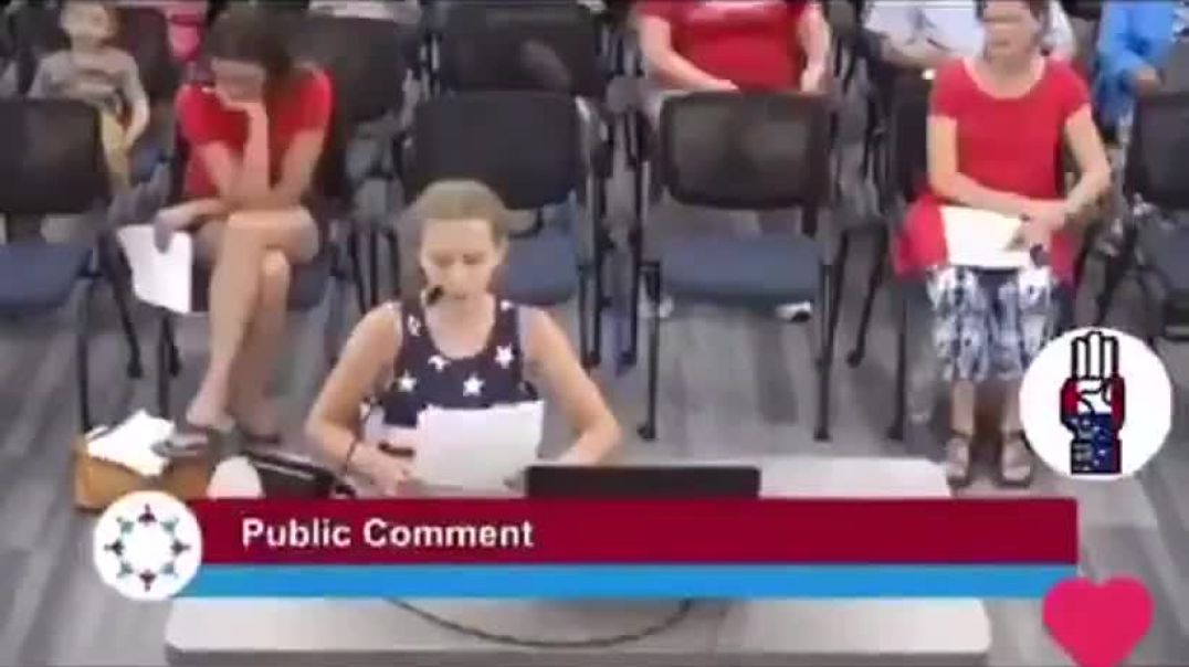 Great Rant From A 9-Year-Old Girl Reminding School Board About Neutral Politics.
