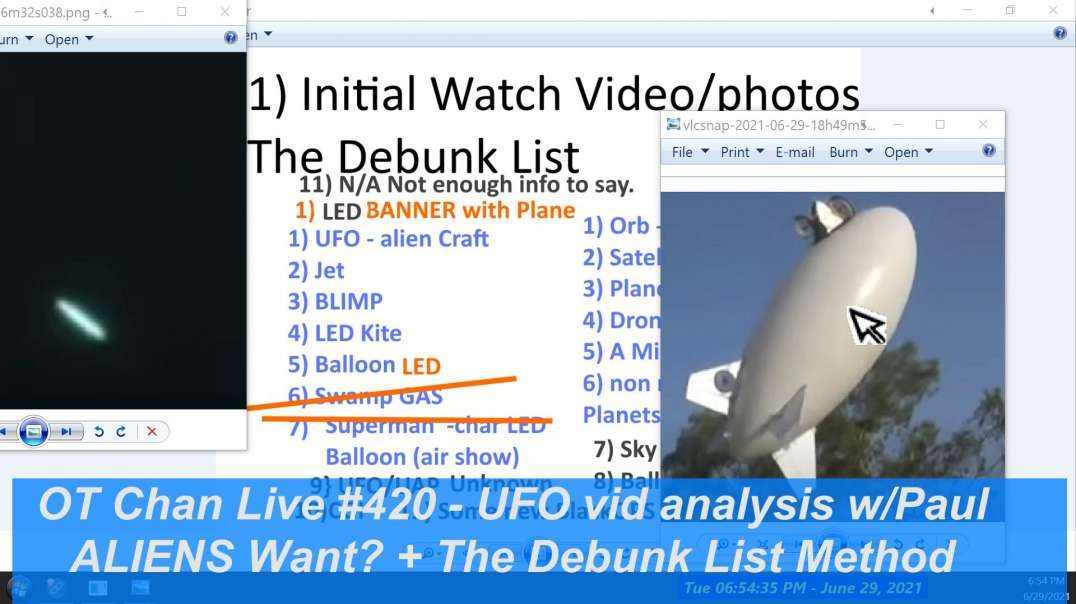 What do ALIENS want- Debunking List Method is needed! More UFO vids! etc ] - OT Chan Live-420
