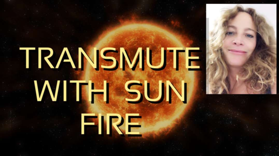 Guided meditation   transmute by fire sun everything that no longer serves you   Eclipse frequency