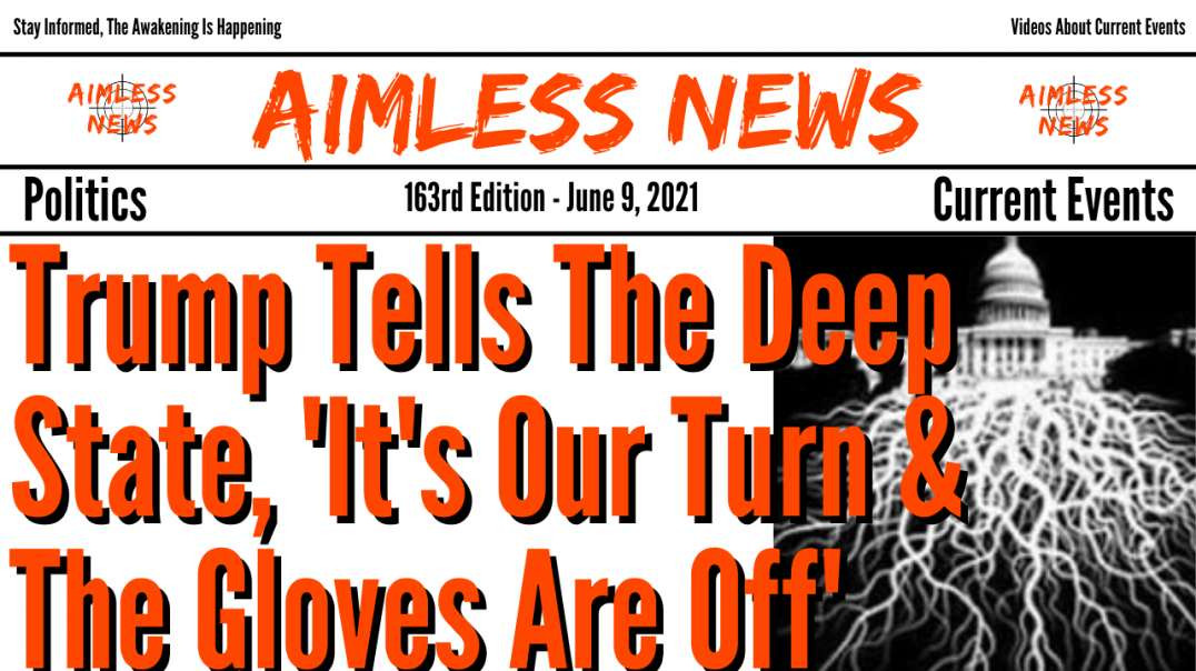 Trump Tells The Deep State,'It's Our Turn & The Gloves Are Off' The Boom Is Comin