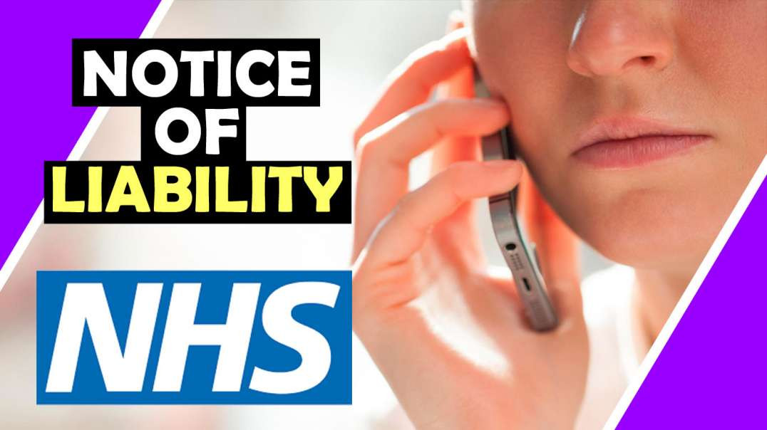Woman CALLS NHS and SERVES NOTICE OF LIABILITY Hugo Talks #lockdown