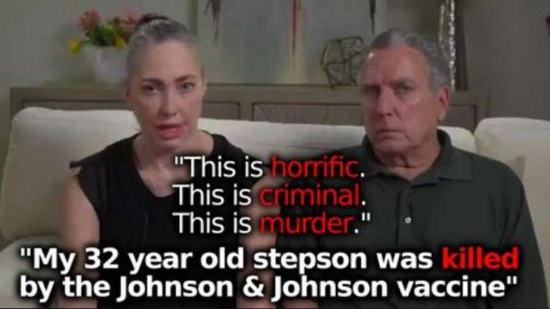MEDIA COVERUP: FAMILY BLAMES JOHNSON & JOHNSON VACCINE FOR YOUNG SON'S DEATH AFTER SHOT