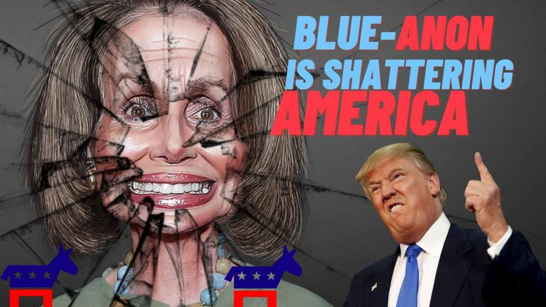 MSM Floods AMERICA with BLUE and Q Anon Conspiracy BS as LEFT Wing Colonization Backfires.