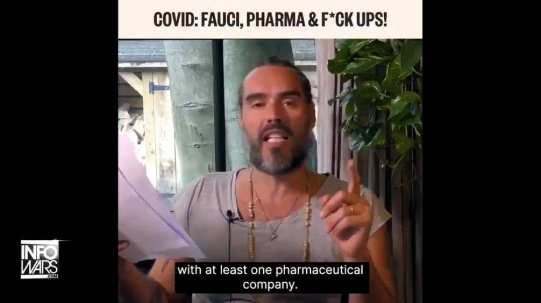 VIDEO: Russell Brand Exposes Connection Between Big Pharma And MSM