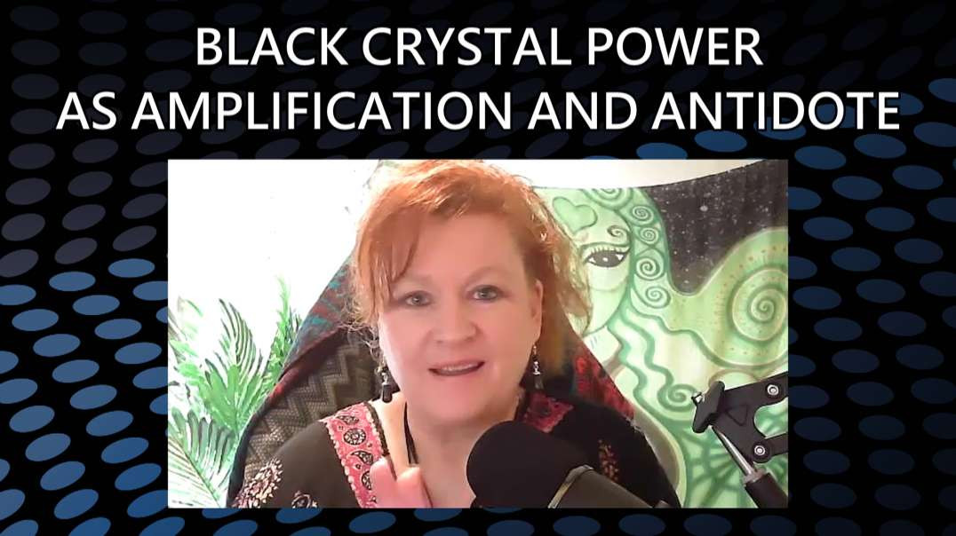 Black Crystal Power as Amplification and Antidote