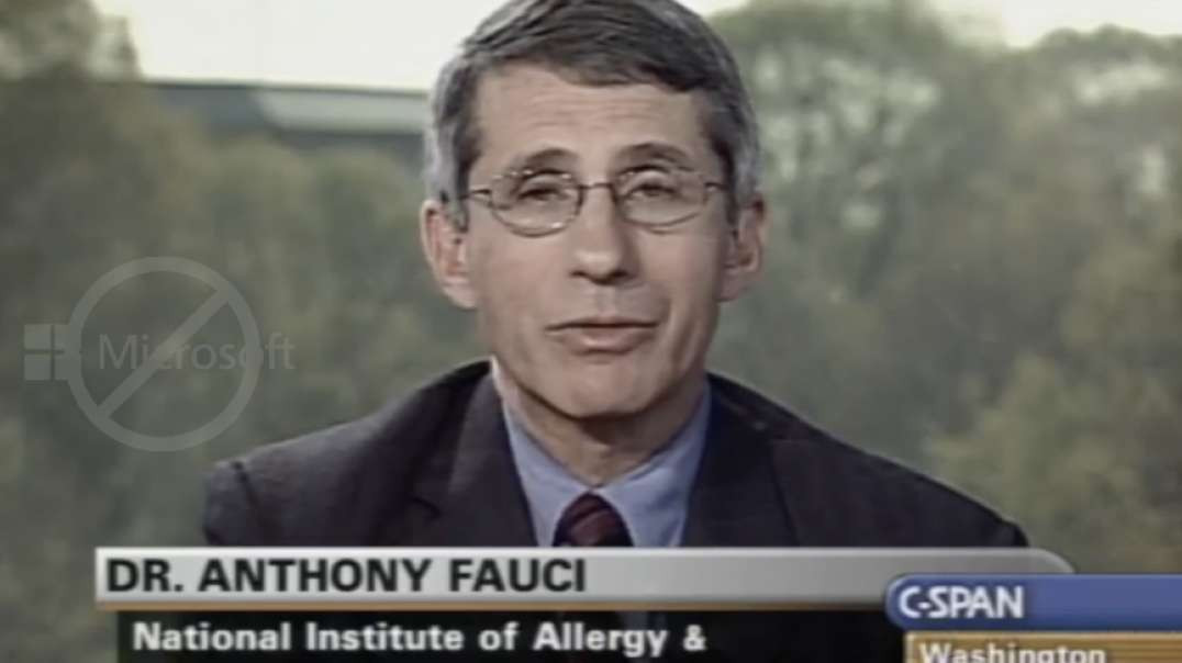 18 Years Ago Fauci Asked To Quit By Physician Live On CSPAN