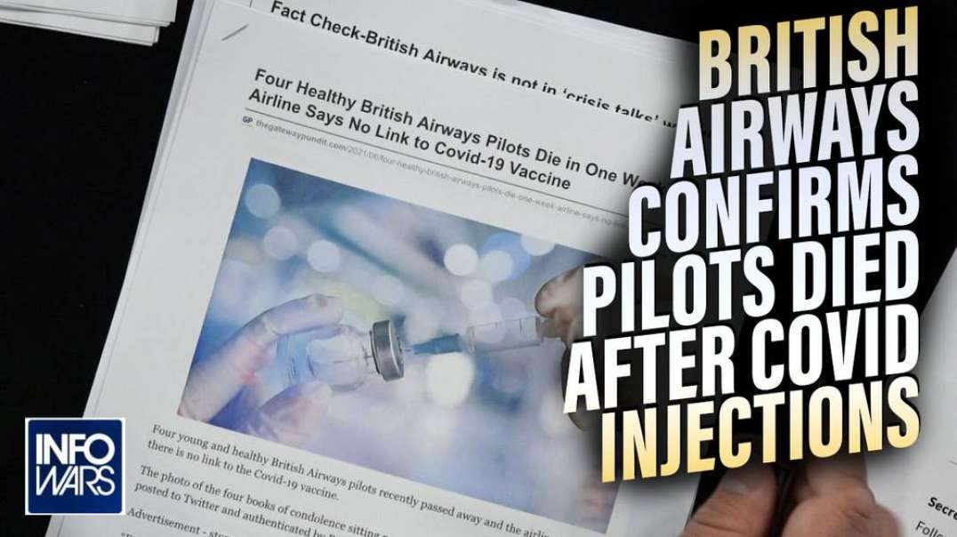 British Airways Confirms 4 Pilots Died After COVID Injection!