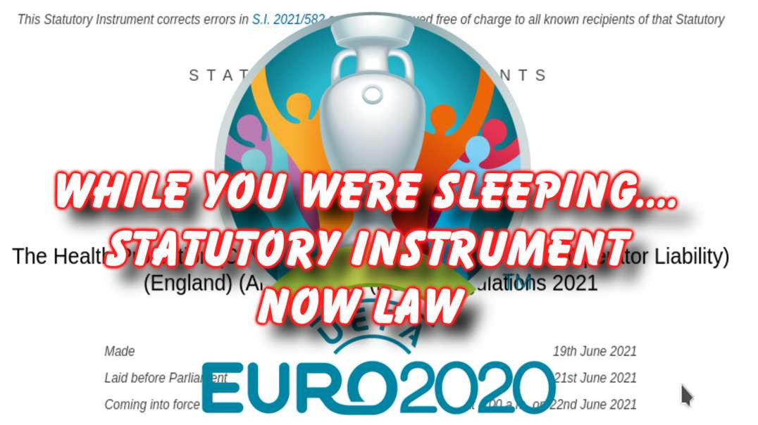 New Law 04:00AM today so EURO people dont have to quarantine!