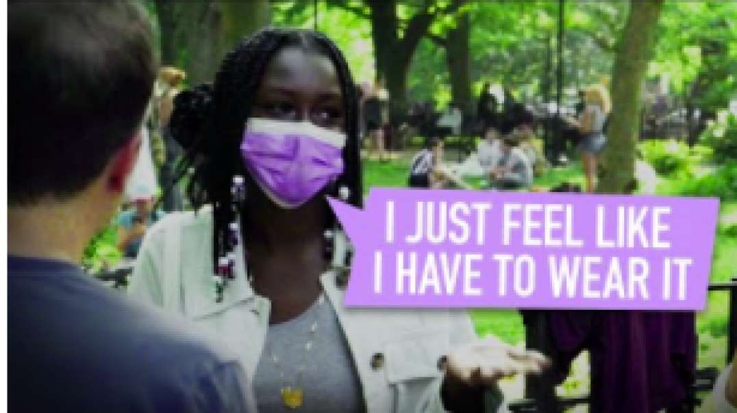 Asking Vaccinated People Why They're Still Wearing A Face Mask