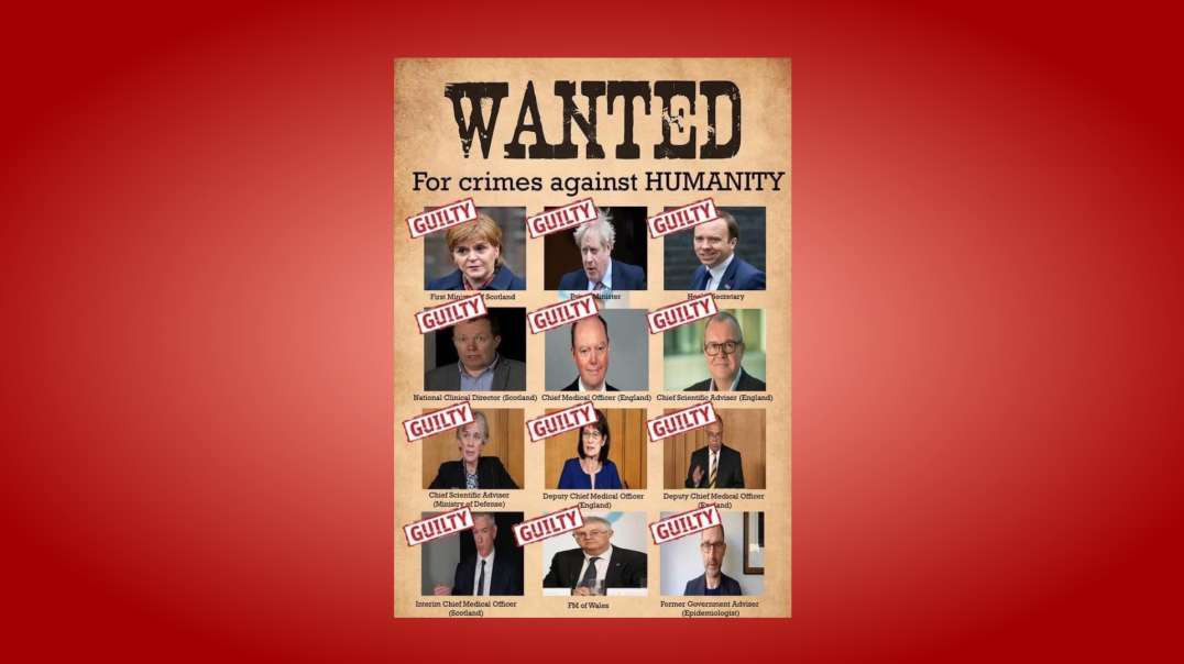 Crimes against humanity -- Guilty!