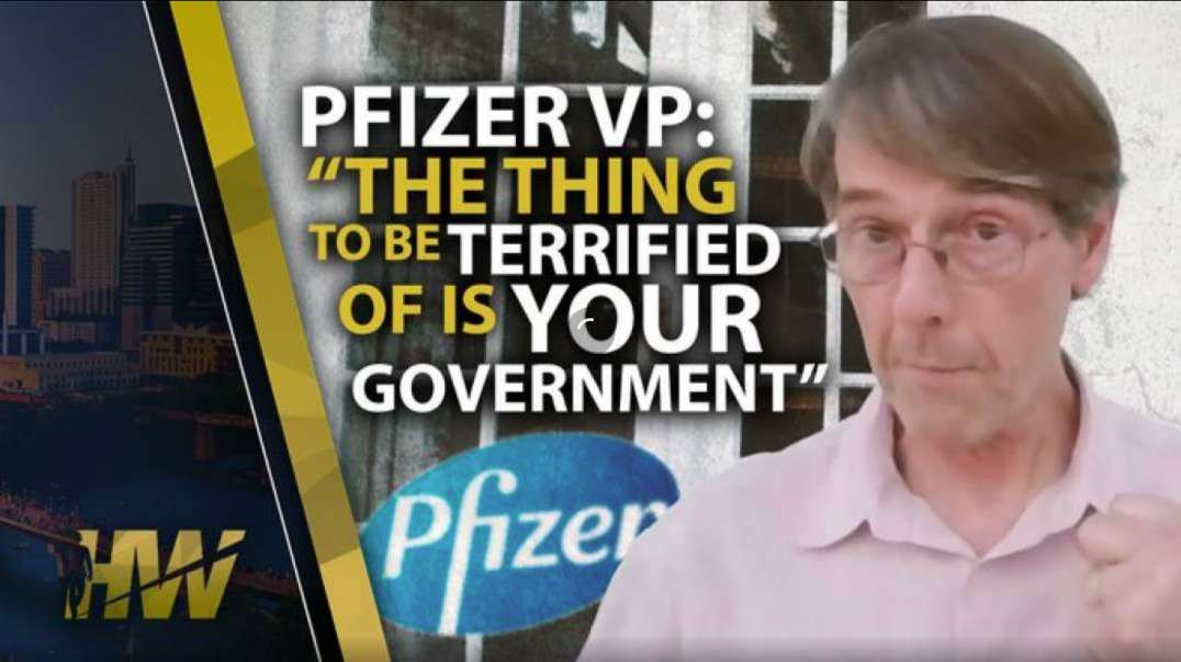 Dr Michael Yeadon The Thing To Be Terrified Of Is Your Government