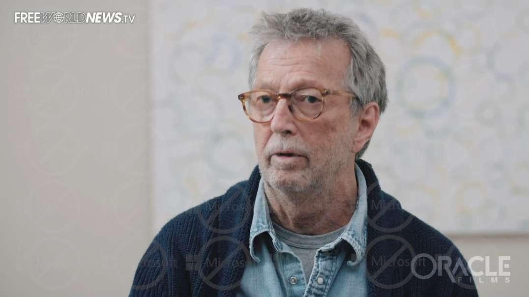 Eric Clapton Details How The COVID Vaccine Paralyzed Him: Full Interview