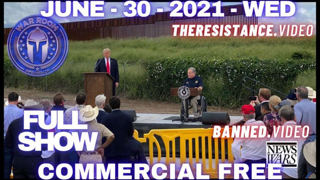 Trump Arrives at Texas Border as Biden Human Smuggling Operation is Exposed