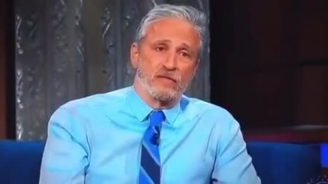 Jon Stewart let's loose and cannot be stopped by media gatekeepers