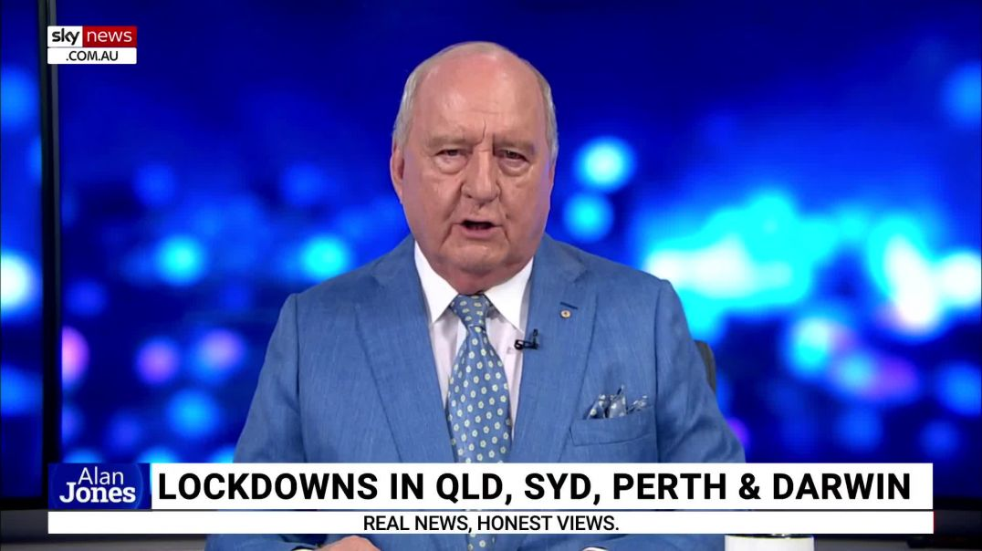 Alan Jones - 'machine of state' backed by fear-peddling media 'unleashed on its citiz