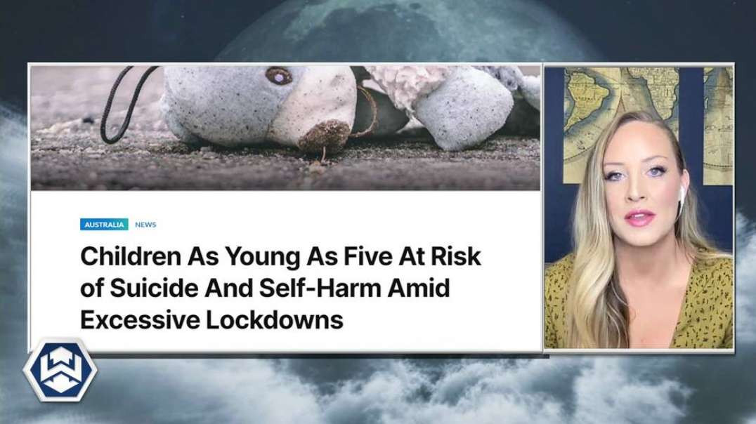 Lockdown Depression Causes 5 Year Olds To Call Suicide Hotline