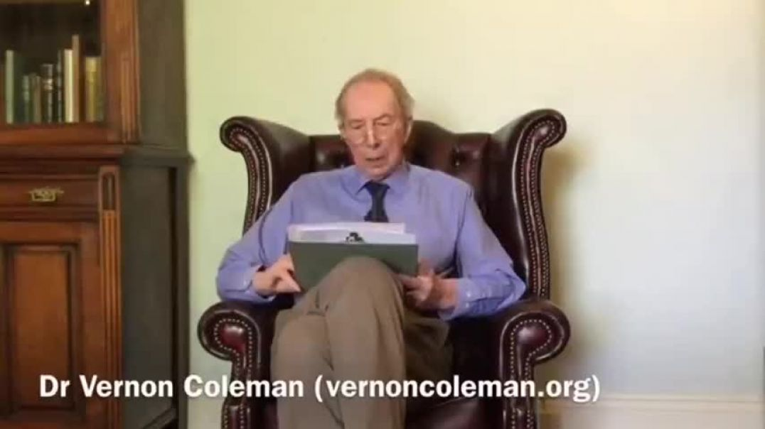 VERNON COLEMAN - LIES ON THE BBC WILL RESULT IN CHILDREN DYING - STOP FUNDING THEM