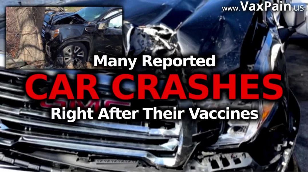 After Covid-19 Vaccine CAR CRASHES Wrecks & Near Accidents When People Lose Control Whil