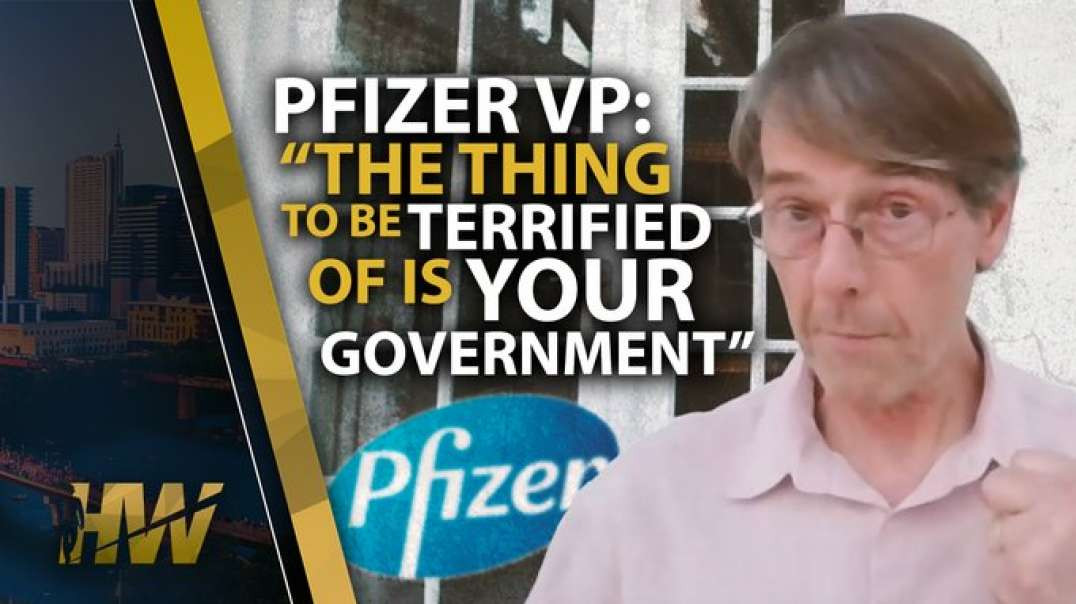 """""""THE THING TO BE TERRIFIED OF IS YOUR GOVERNMENT"""" Dr Mike Yeadon ex Pfizer VP"""