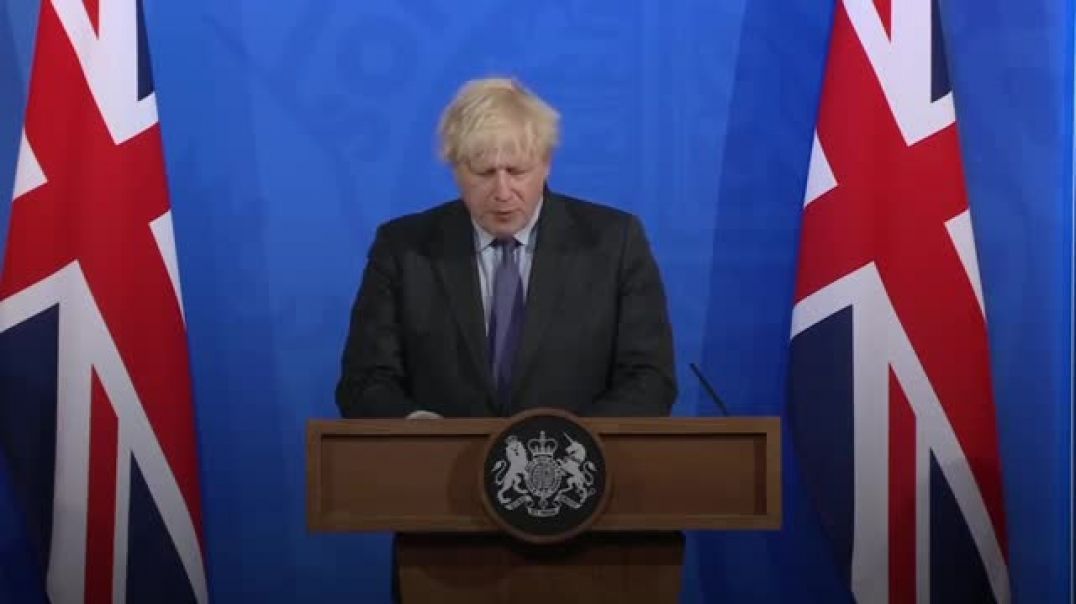 SURPRISE: the most evil, lying TURD in UK confirms that Lockdown and Restrictions will CONTINUE