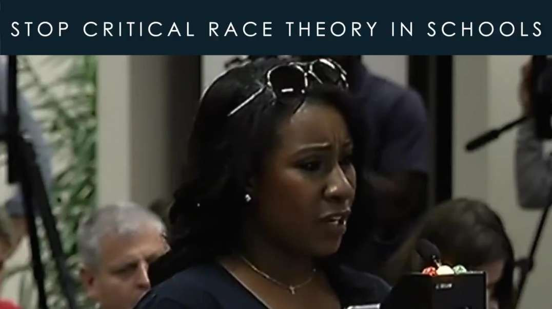 Mother Speaks To Stop Critical Race Theory In Schools