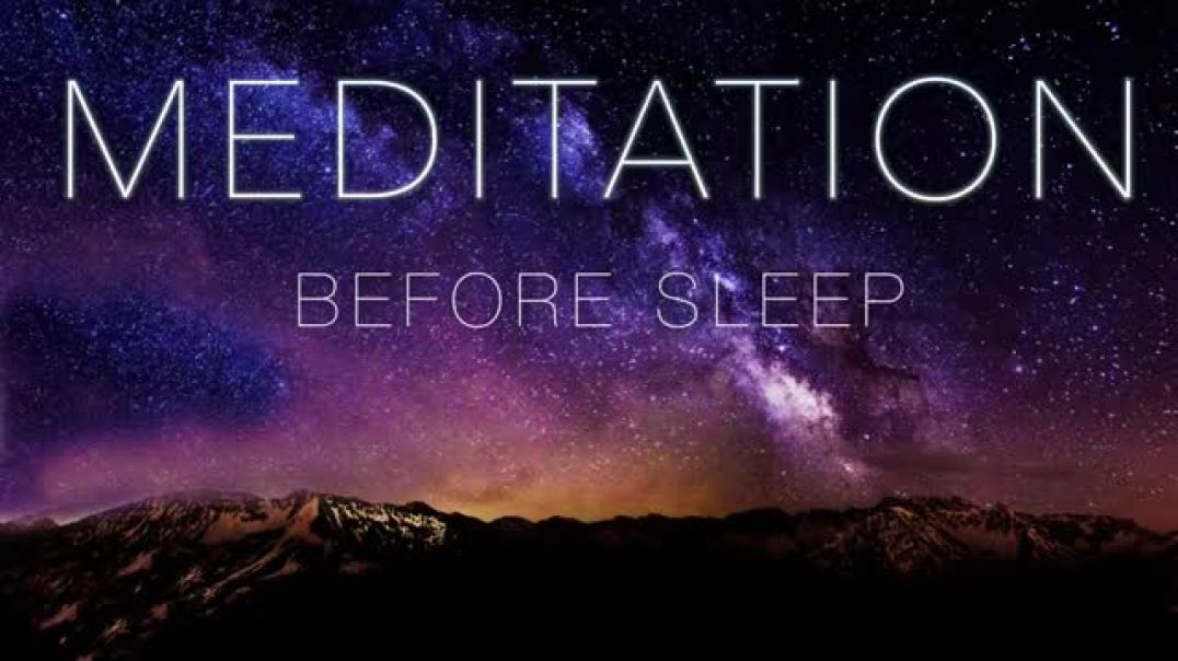 Guided Meditation Before Sleep Let Go of the Day.