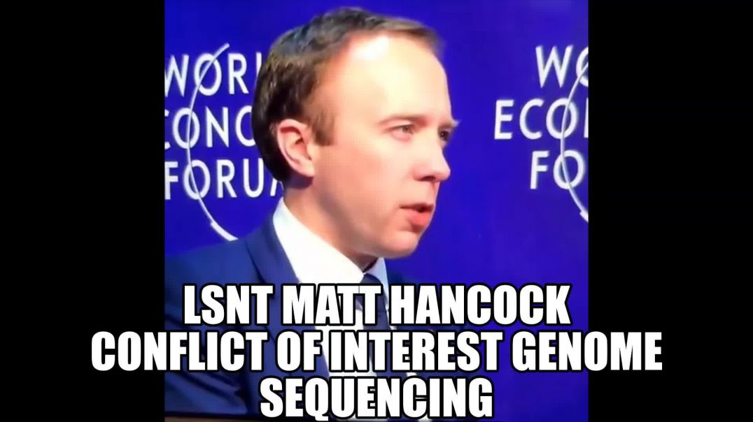 MATT HANCOCK HAS Conflicts of Interest - IN THIS PANDEMIC