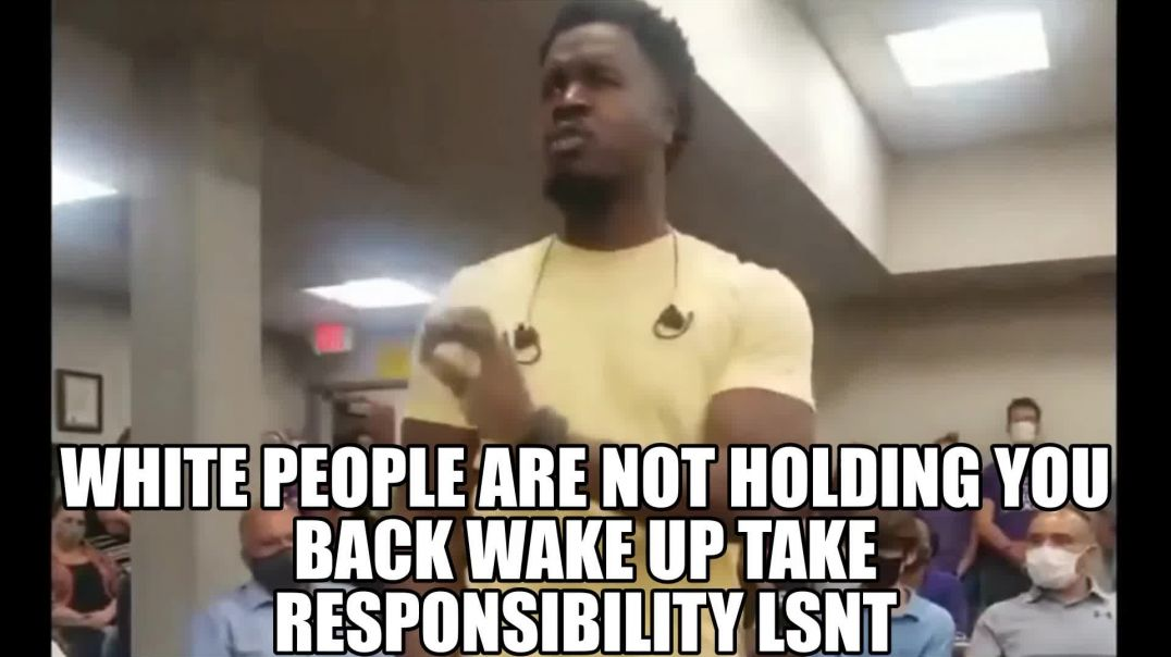 WHITE PEOPLE ARE NOT HOLDING YOU BACK WAKE UP