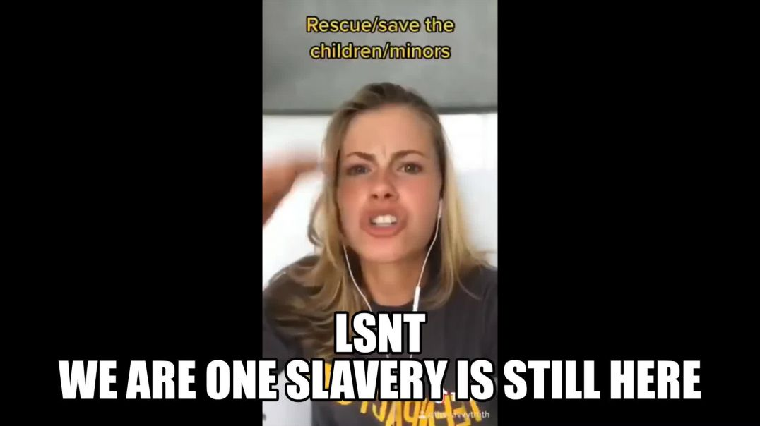 America We Are One SLAVERY Never Went Away It Got Organised